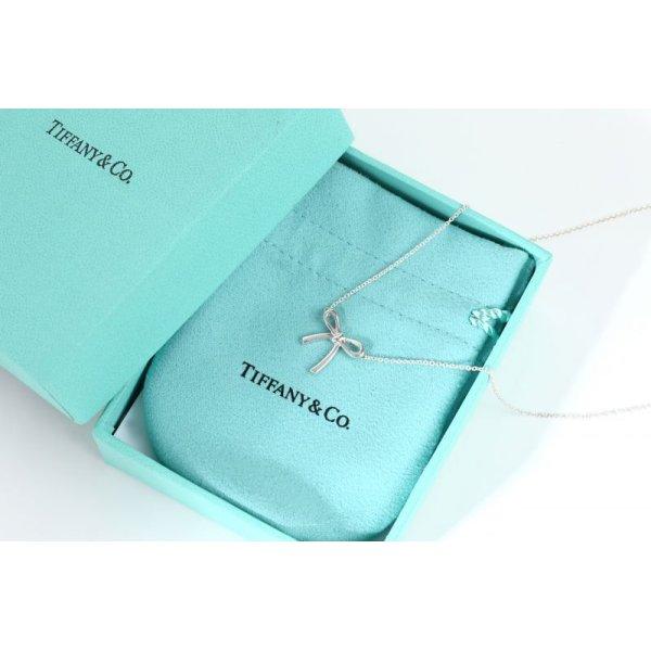画像2: TIFFANY&Co[ティファニー] リボンペンダント(ミニ) 並行輸入品